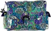 Kalencom Laminated Buckle Diaper Bag (Russian Floral Blue)