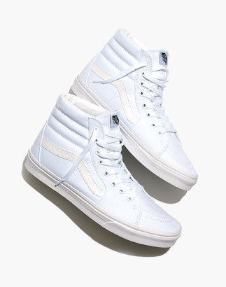 Madewell Vans Unisex Sk8-Hi High-Top Sneakers in Canvas