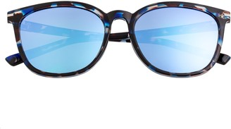 Bertha Polarized Wayfarer Sunglasses - Piper