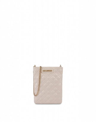 Love Moschino Quilted Phone Case Bag