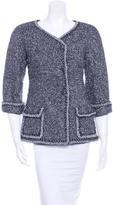 Chanel Metallic Double-Breasted Jacket