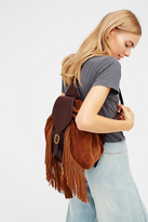 Frye Womens CLARA FRINGE BACKPACK
