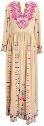Ulla Johnson Beige Silk Dresses