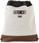Givenchy canvas drawstring backpack