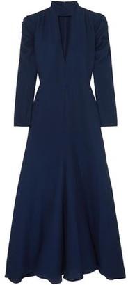 Chloé Cutout Silk-blend Crepe Maxi Dress