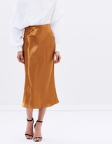 CHRISTOPHER ESBER Bias Slip Skirt