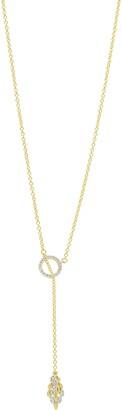 Freida Rothman Fleur Bloom Lariat Necklace