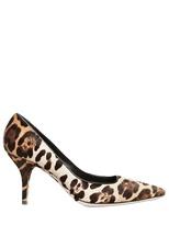 Dolce & Gabbana - 70mm Leopard Print Pony Pumps