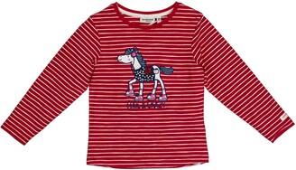 Salt&Pepper Salt and Pepper Girls' Cool & Crazy Pferd mit Pailetten Longsleeve T-Shirt