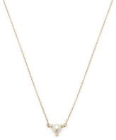 Mizuki 14K Gold Freshwater Pearl Pendant Necklace