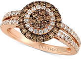 LeVian Le Vian Chocolatier® Diamond Ring (7/8 ct. t.w.) in 14k Rose Gold