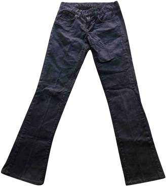 Ralph Lauren Black Cotton Trousers