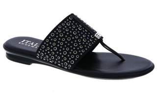 Italian Shoemakers Afia Embellished Strap Wedge Sandal