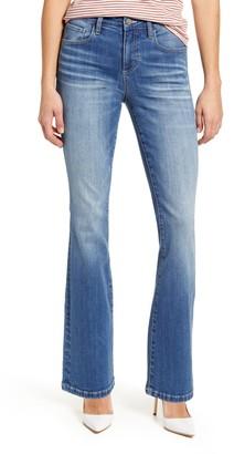 WASH LAB Flare Leg Jeans