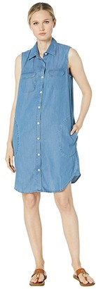 Karen Kane Sleeveless Dress (Chambray) Women's Clothing