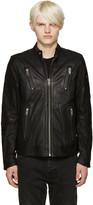 Diesel Black Leather L-Rambo Jacket