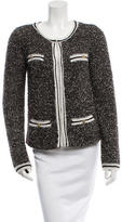Alice + Olivia Bouclé Long Sleeve Jacket
