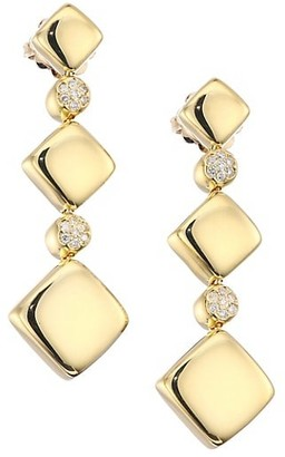 Alberto Milani Via Brera 18K Gold & Diamond Graduated Drop Earrings