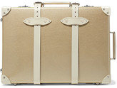Globe-trotter Champagne 21'' Leather-trimmed Fiberboard Travel Trolley - Gold
