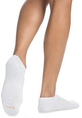 Hanes Women's Comfortblend Lightweight Low Cut Socks, 6 pack