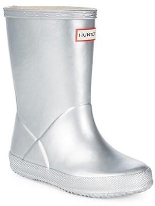 Hunter Baby's, Toddler's & Kid's Metallic Rubber Boots