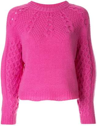 Sea cable knit jumper