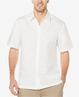 Cubavera Men's Linen Tonal Embroidered Shirt