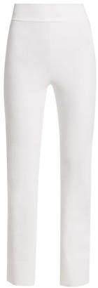 Chiara Boni Venusette High-Waist Straight-Leg Pull-On Pants