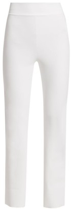 Chiara Boni Venusette High-Waist Straight-Leg Pull-On Pants
