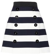 Dolce & Gabbana Striped Cotton Skirt