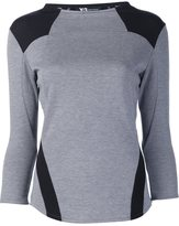 Y-3 double jersey top