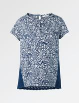 Fat Face Cluster Mixed Print T-Shirt