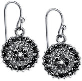 2028 Silver-Tone Crystal Drop Earrings, a Macy's Exclusive Style