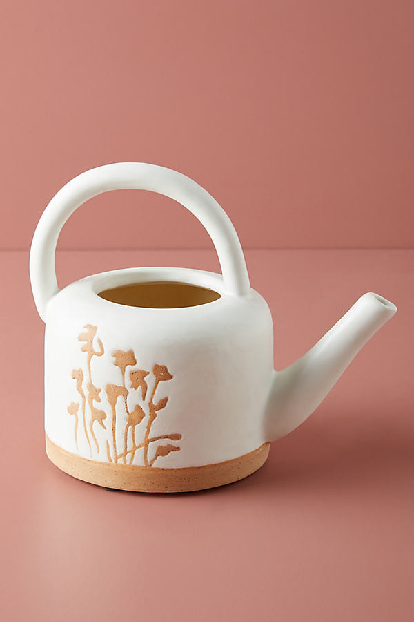 Anthropologie Gemma Watering Can By in Yellow Size ALL