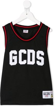 Gcds Kids Branded Tank Top