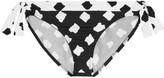 Norma Kamali Eric printed low-rise bikini briefs
