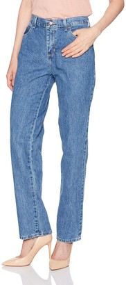 Lee Womens Relaxed Fit All Cotton Straight Leg Jean