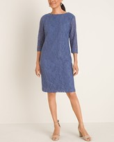 Chico's Chicos 3/4-Sleeve Lace Dress