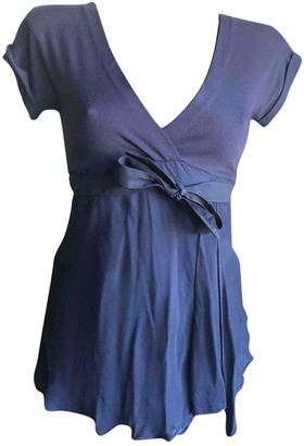 Brunello Cucinelli Blue Silk Tops