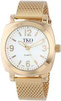 TKO ORLOGI Women's TK586G Milano Gold-Tone Watch