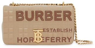 Burberry small quilted Horseferry print Lola bag