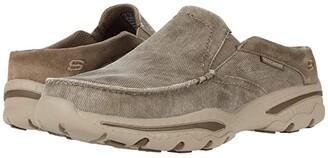 Skechers Relaxed Fit Creston - Backlot (Khaki) Men's Shoes
