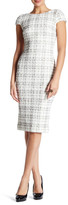 Dress the Population Marcella Plaid Midi Dress