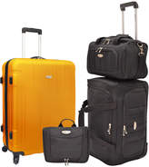 Traveler's Choice Travelers Choice Rome 4Pc Nested Luggage Set