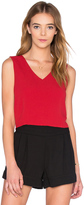 Bishop + Young Rosie Deep V Neck Top