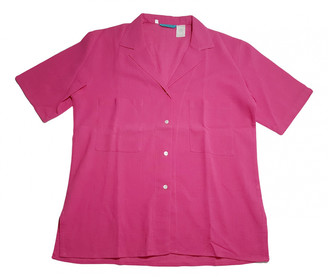 Cacharel Pink Cotton Tops