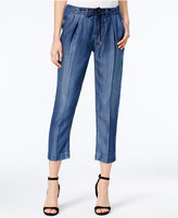 Armani Exchange Drawstring Denim Trousers