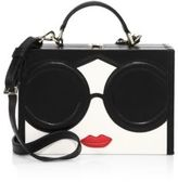 Alice + Olivia Stace Face Leather Crossbody Bag