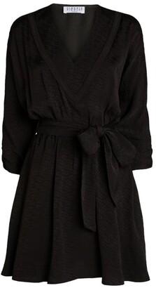 Claudie Pierlot V-Neck Mini Dress