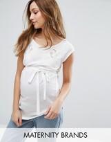 Mama Licious Mama.licious Mamalicious Maternity Top